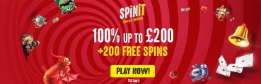 Spinit Casino UK player Bonus
