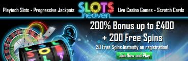 Slots Heaven UK Online Casino