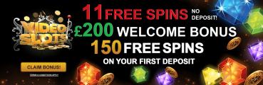 Video Slots UK Welcome Bonus