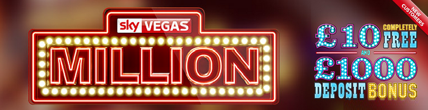 Sky Vegas Million Bonus