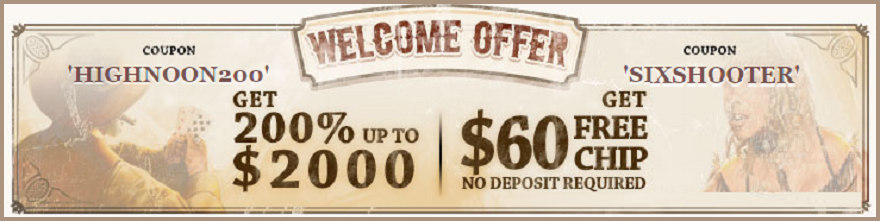 Highnoon Casinos Bonus without Deposit