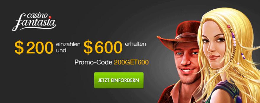 300% Bonus Novoline