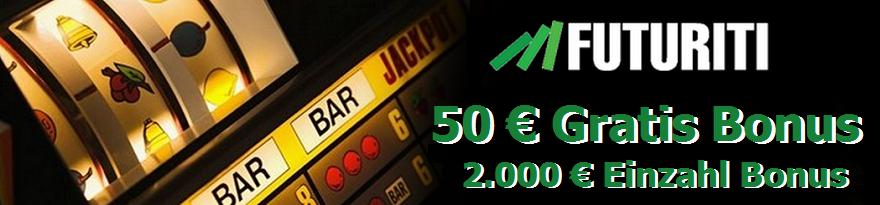 Futuriti Bonus 50 € Gratis