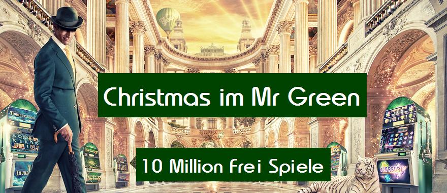 Mr Green Freispiele ohne Einzahlung