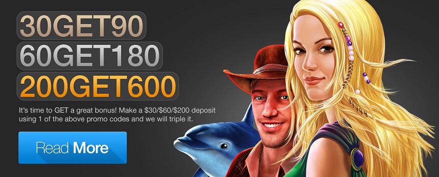 Free Casino Fantasia Bonuses