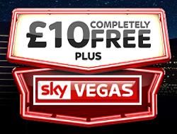 Free Bonus for Sky Vegas Players
