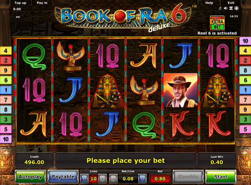 caesars palace online casino slot book of ra