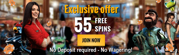 Casino Cruise Bonus 55 Free Spins