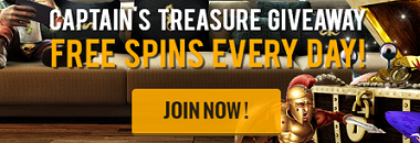 Casino Cruise Captains Treasure Bonus