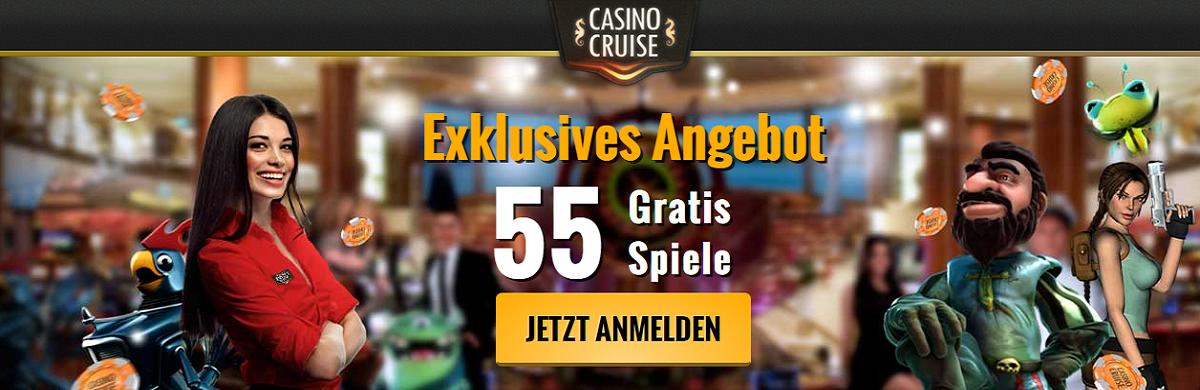 Casino Cruise Freispiele ohne Einzahlung