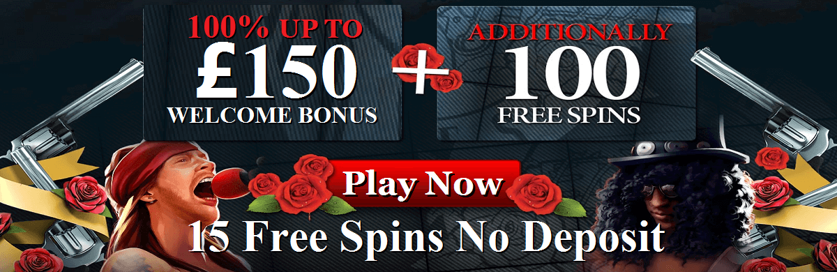 Energy Casino Free Spins Guns'n Roses Slot