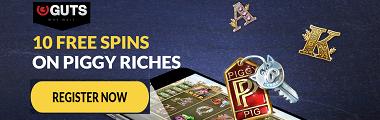 Guts Casino No Deposit Bonus