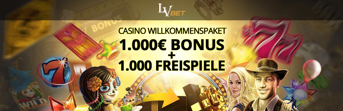 LVbet Casino Willkommens Bonus