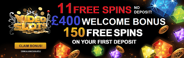 Video Slots Casino UK Welcome Bonus