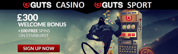 Guts UK Bonus Casino
