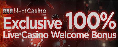 Next Casino Live Casino Bonus