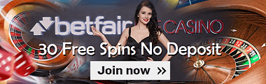 UK Betfair Casino Free Spins No Deposit