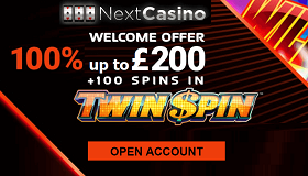 Next Casino Free UK Welcome Bonus