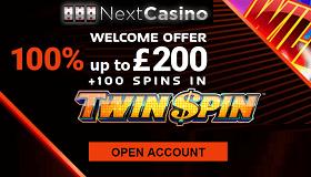 Next Casino Free UK Welcome Bonus