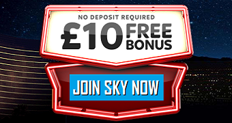 Sky Vegas UK Casino Bonus