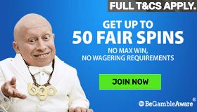 BGO Free Spins No Wager No Max Win