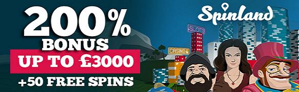 Spinland Casino UK Bonus