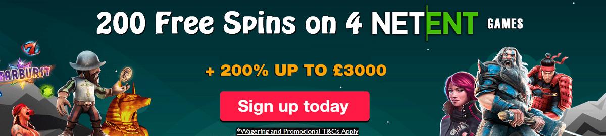 Spinland Free Spins UK Casino Bonus