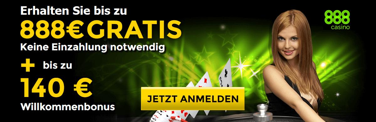 888 Casino Gratis Bonus
