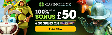 Casino Luck UK New Bonus