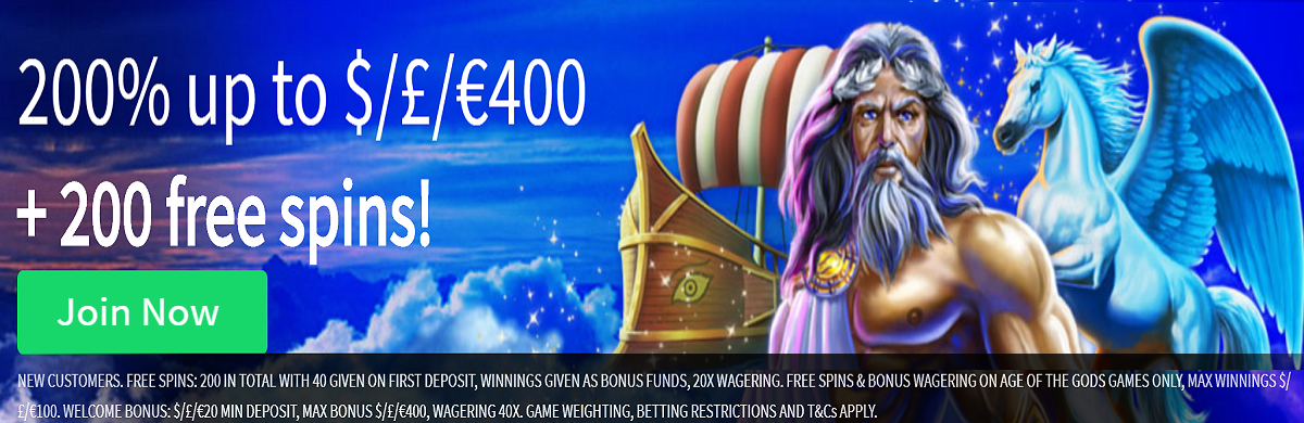 Slots Heaven UK Welcome Bonus
