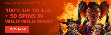 Wild Slots Casino UK New Player Welcome Bonus