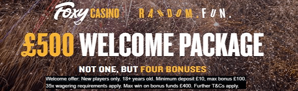 Foxy Casino UK Online Casino