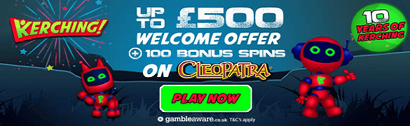 Kerching UK Casino Bonus