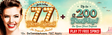 777 Casino Free Bonus UK