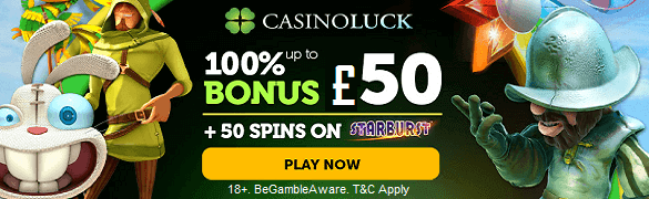 Casino Luck UK Sign Up Bonus Free Spins