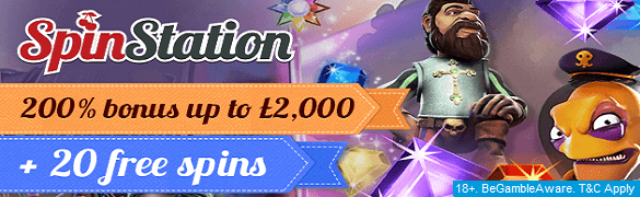 Spinstation UK Casino Sign Up Bonus Free Spins
