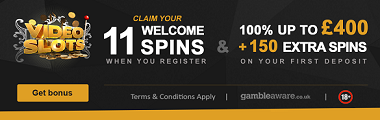 Video Slots UK Bonus Welcome Spins