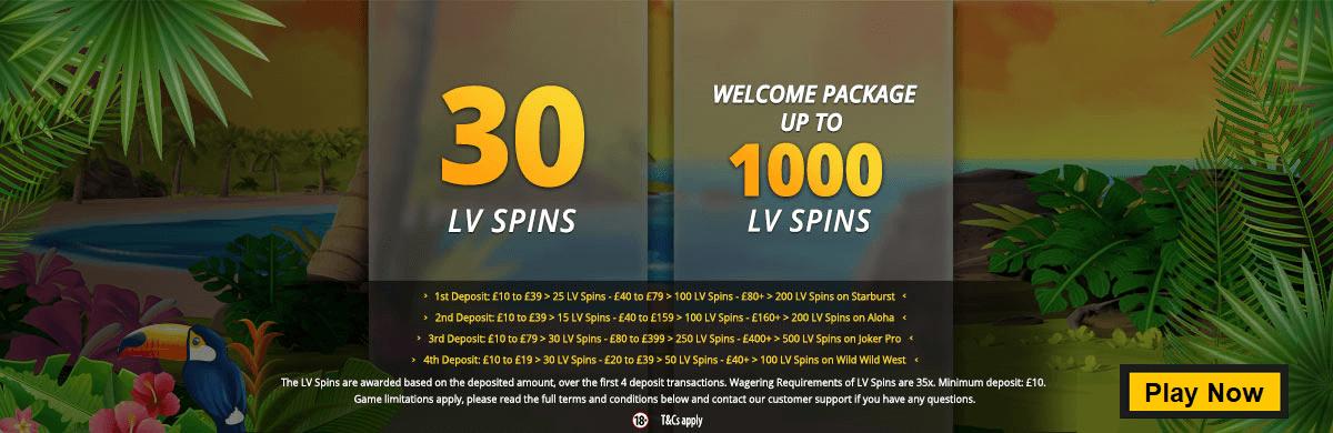 Lvbet casino 30 free