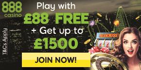 888 Casino Free Bonus
