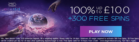 Genesis Casino Bonus UK